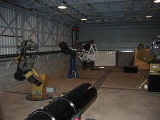 Telescopes inside the Winer